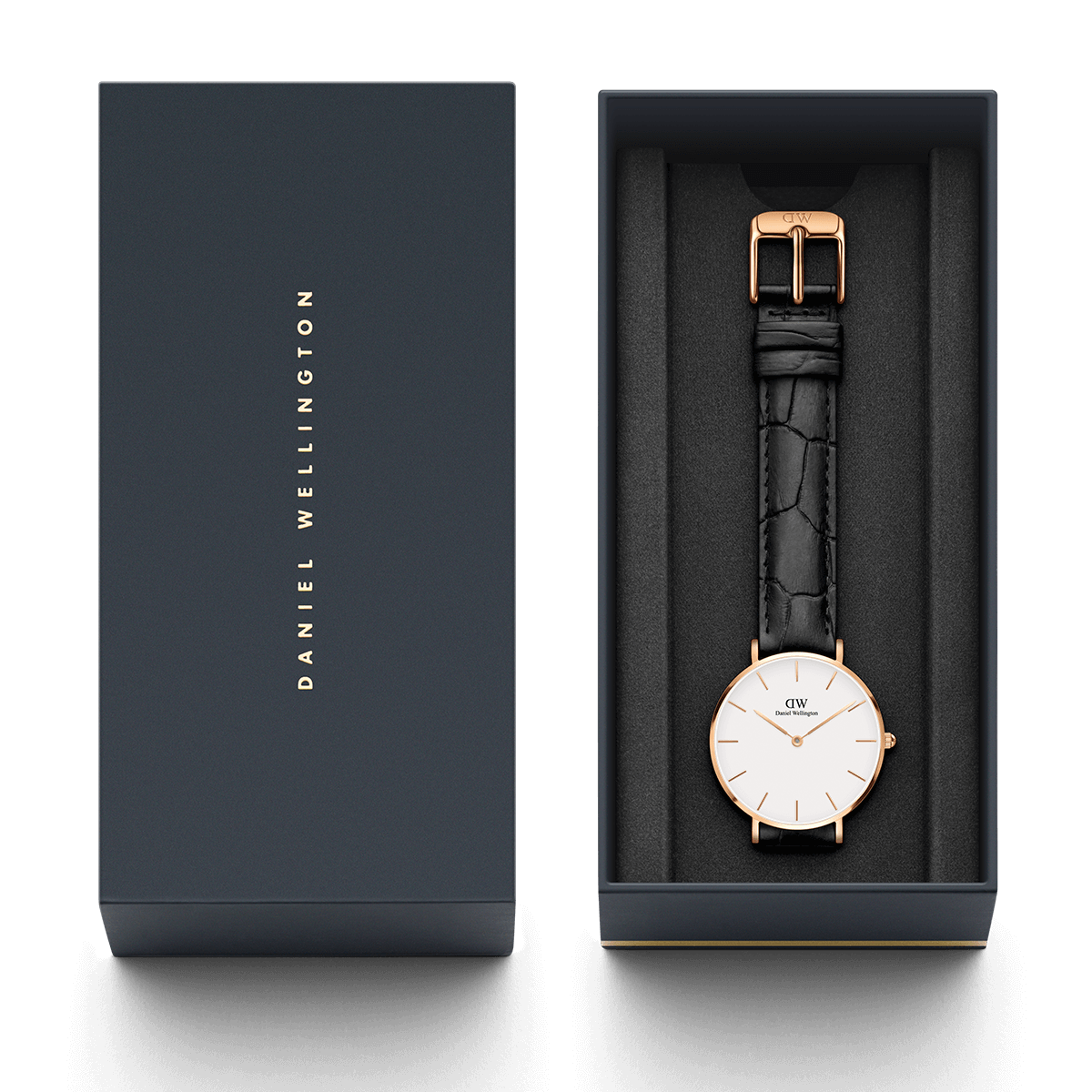 d47eacaf7d18 Classic Petite Reading Rose Gold 32mm (white)