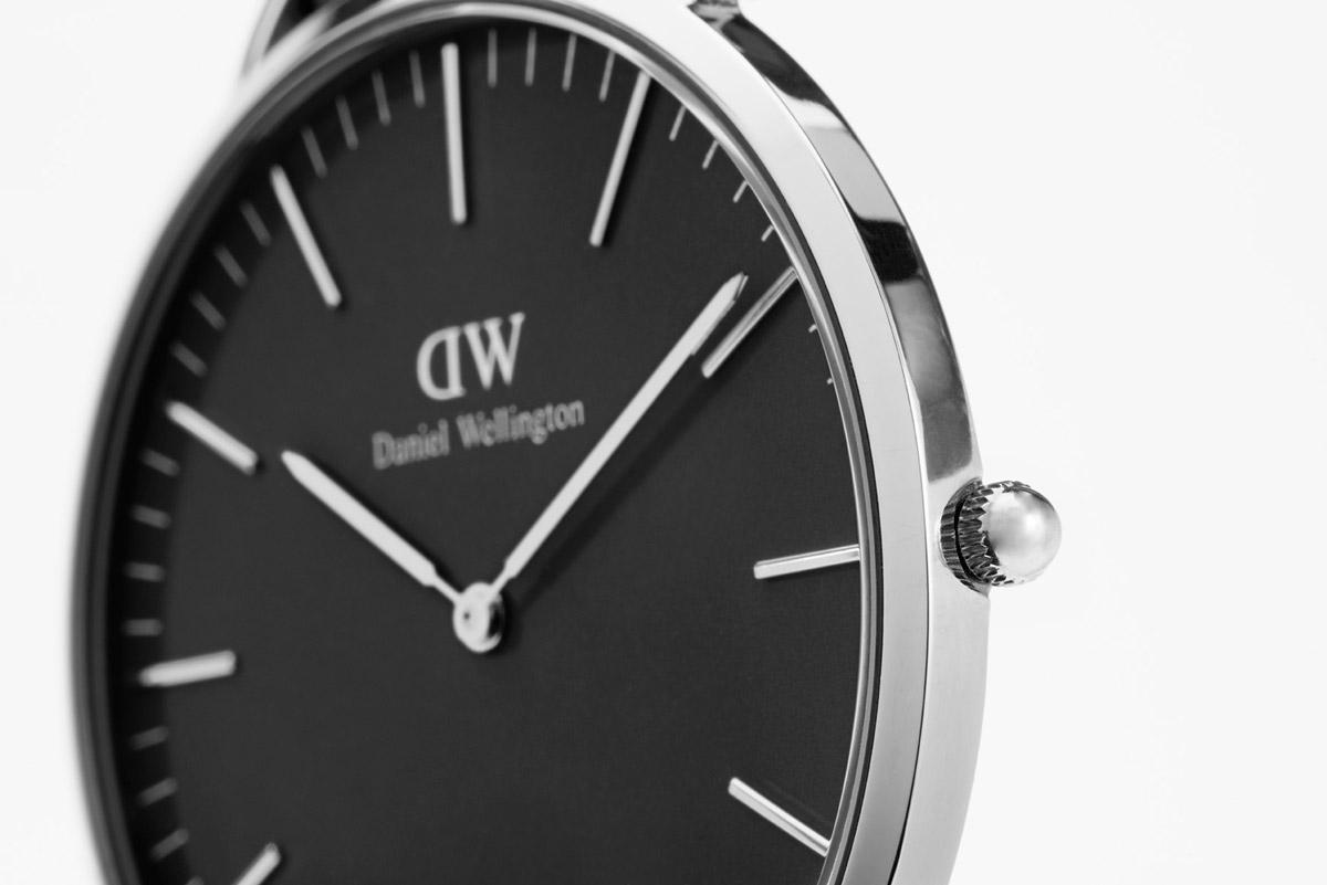 Daniel Wellington Damenuhr Classic Black Bristol DW00100143