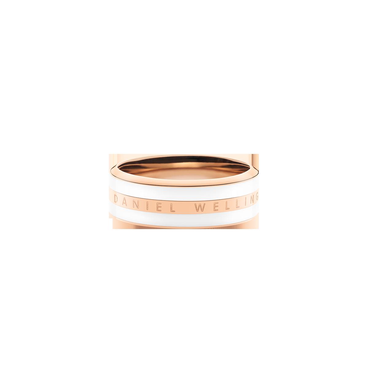 e019caaa027ead Classic Ring Satin White Rose Gold 48